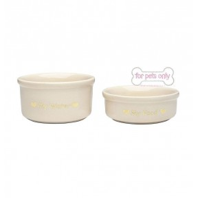 FPO TEACUP BOWL SET CREAM