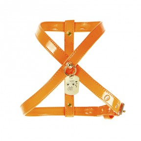 TOPOMIO CHARM HARNESS ORANGE