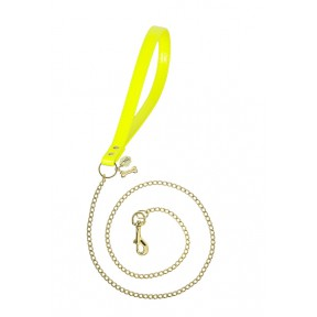 CHAIN LEAD YELLOW FLUO