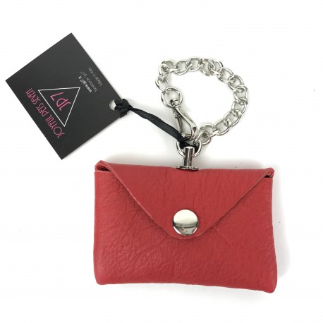 IGENIC BAG LEATHER RED