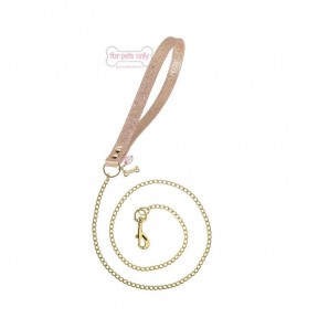 CHAIN LEAD ROSE GOLD/GOLD BISTROT